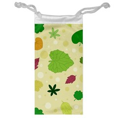Leaves Pattern Jewelry Bag