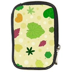 Leaves Pattern Compact Camera Cases