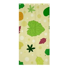 Leaves Pattern Shower Curtain 36  x 72  (Stall)