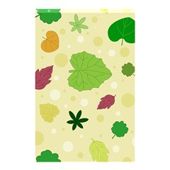 Leaves Pattern Shower Curtain 48  x 72  (Small)