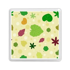 Leaves Pattern Memory Card Reader (Square)