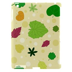 Leaves Pattern Apple Ipad 3/4 Hardshell Case (compatible With Smart Cover)