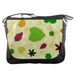 Leaves Pattern Messenger Bags