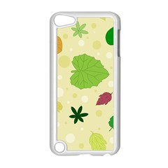 Leaves Pattern Apple iPod Touch 5 Case (White)