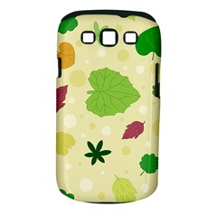 Leaves Pattern Samsung Galaxy S III Classic Hardshell Case (PC+Silicone)