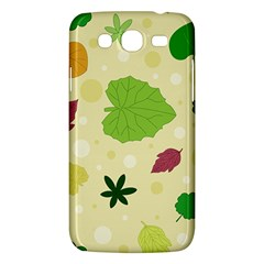 Leaves Pattern Samsung Galaxy Mega 5.8 I9152 Hardshell Case