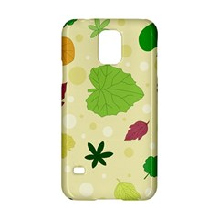 Leaves Pattern Samsung Galaxy S5 Hardshell Case