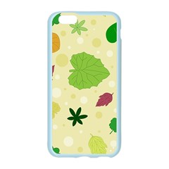 Leaves Pattern Apple Seamless iPhone 6/6S Case (Color)