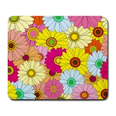 Floral Background Large Mousepads