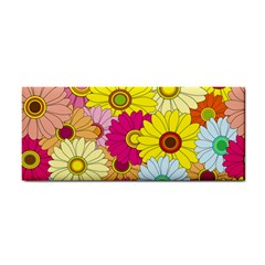 Floral Background Cosmetic Storage Cases