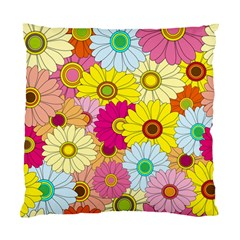 Floral Background Standard Cushion Case (Two Sides)