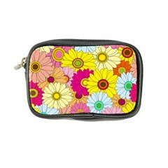 Floral Background Coin Purse