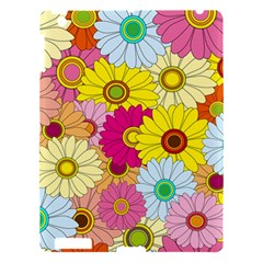 Floral Background Apple iPad 3/4 Hardshell Case