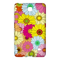Floral Background Samsung Galaxy Tab 4 (7 ) Hardshell Case