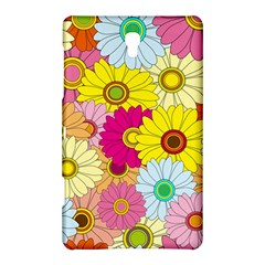Floral Background Samsung Galaxy Tab S (8.4 ) Hardshell Case