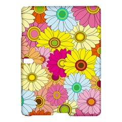 Floral Background Samsung Galaxy Tab S (10.5 ) Hardshell Case