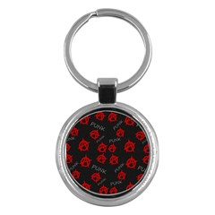 Anarchy pattern Key Chains (Round)