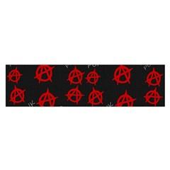 Anarchy pattern Satin Scarf (Oblong)