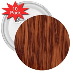 Texture Tileable Seamless Wood 3  Buttons (10 pack)