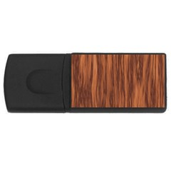 Texture Tileable Seamless Wood USB Flash Drive Rectangular (1 GB)
