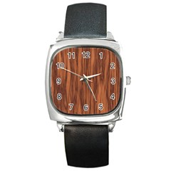 Texture Tileable Seamless Wood Square Metal Watch