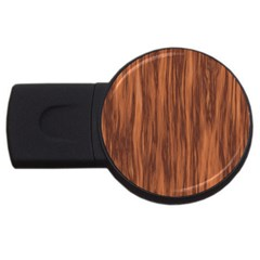 Texture Tileable Seamless Wood USB Flash Drive Round (4 GB)