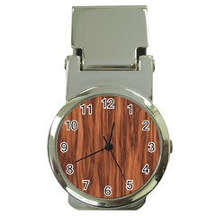 Texture Tileable Seamless Wood Money Clip Watches
