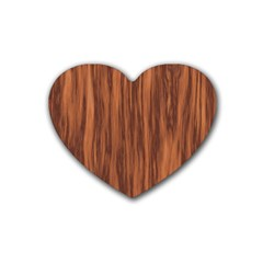 Texture Tileable Seamless Wood Heart Coaster (4 pack)