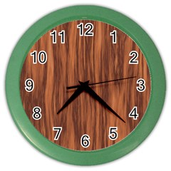 Texture Tileable Seamless Wood Color Wall Clocks