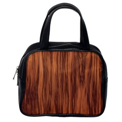 Texture Tileable Seamless Wood Classic Handbags (One Side)