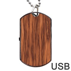 Texture Tileable Seamless Wood Dog Tag USB Flash (Two Sides)