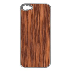 Texture Tileable Seamless Wood Apple Iphone 5 Case (silver)