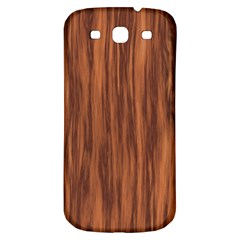 Texture Tileable Seamless Wood Samsung Galaxy S3 S III Classic Hardshell Back Case