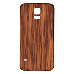 Texture Tileable Seamless Wood Samsung Galaxy S5 Back Case (White)