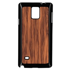 Texture Tileable Seamless Wood Samsung Galaxy Note 4 Case (Black)
