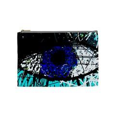 Blue eye Cosmetic Bag (Medium)