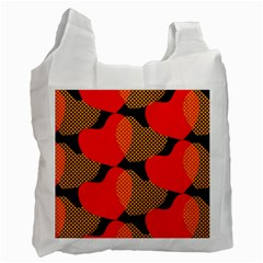 Heart Pattern Recycle Bag (Two Side)