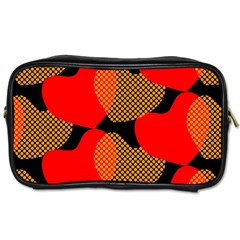 Heart Pattern Toiletries Bags 2-Side
