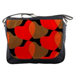 Heart Pattern Messenger Bags