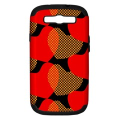 Heart Pattern Samsung Galaxy S III Hardshell Case (PC+Silicone)