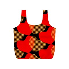 Heart Pattern Full Print Recycle Bags (s)