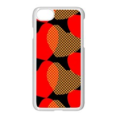 Heart Pattern Apple iPhone 7 Seamless Case (White)