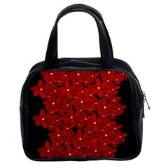 Red bouquet  Classic Handbags (2 Sides)