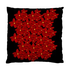 Red bouquet  Standard Cushion Case (Two Sides)