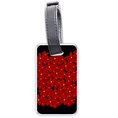 Red bouquet  Luggage Tags (One Side)