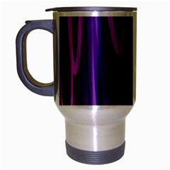 The Background Design Travel Mug (Silver Gray)