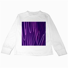 The Background Design Kids Long Sleeve T-Shirts