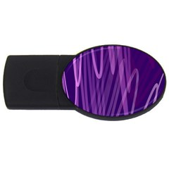 The Background Design USB Flash Drive Oval (4 GB)