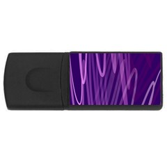 The Background Design USB Flash Drive Rectangular (4 GB)