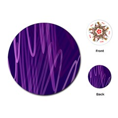 The Background Design Playing Cards (Round)